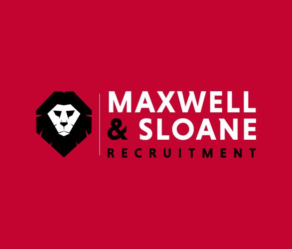 logo design maxwell and sloane homepage