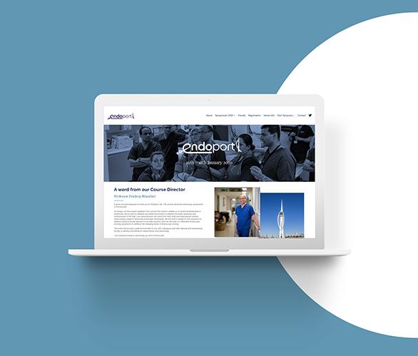 web design case study endoport