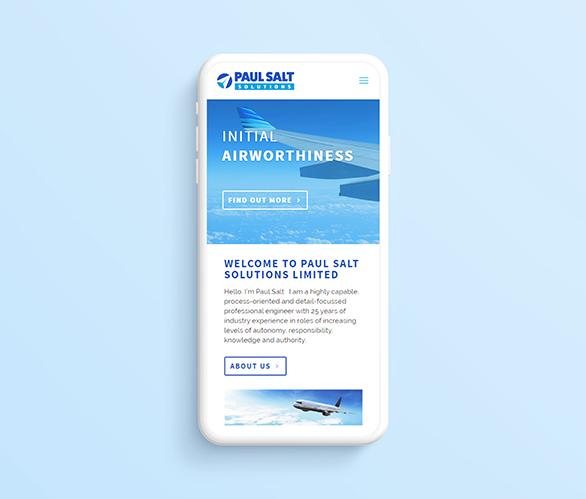 web design paul salt mobile